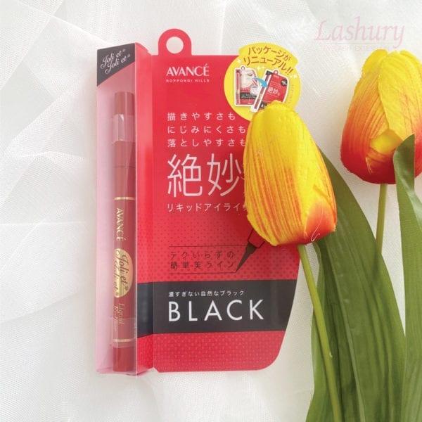 Avance Liquid Eyeliner Black